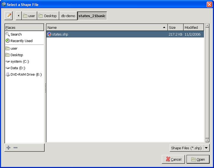 desktop-shp-file